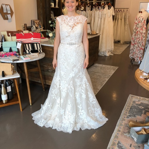 Pronovias Dresses Sample Wedding Dress Never Worn Poshmark